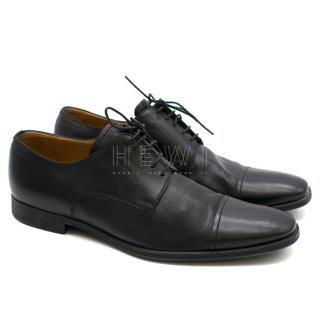 Bally leather lace up oxfords
