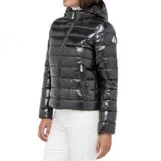 Pyrenex Black Shiny Puffer Jacket