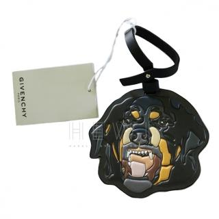 Givenchy Rottweiler Leather Luggage Tag