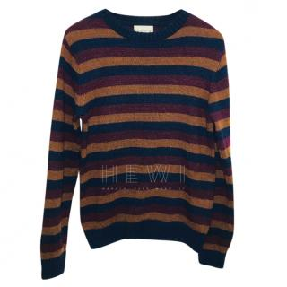 Oliver Spencer striped Slim fit wool-blend jumper