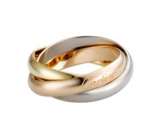 Cartier Trinity De Cartier Yellow, Pink & White Gold Ring