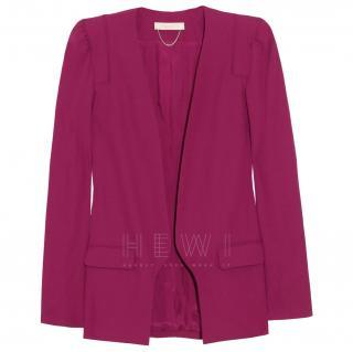 Vanessa Bruno Pink Crepe Jacket