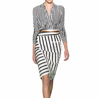 Altuzarra Striped Shirt Playsuit & Skirt