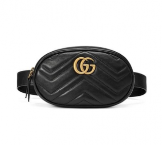 Gucci GG Marmont Matelass� Belt Bag