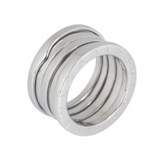 Bvlgari 18k White Gold B.Zero1 Ring