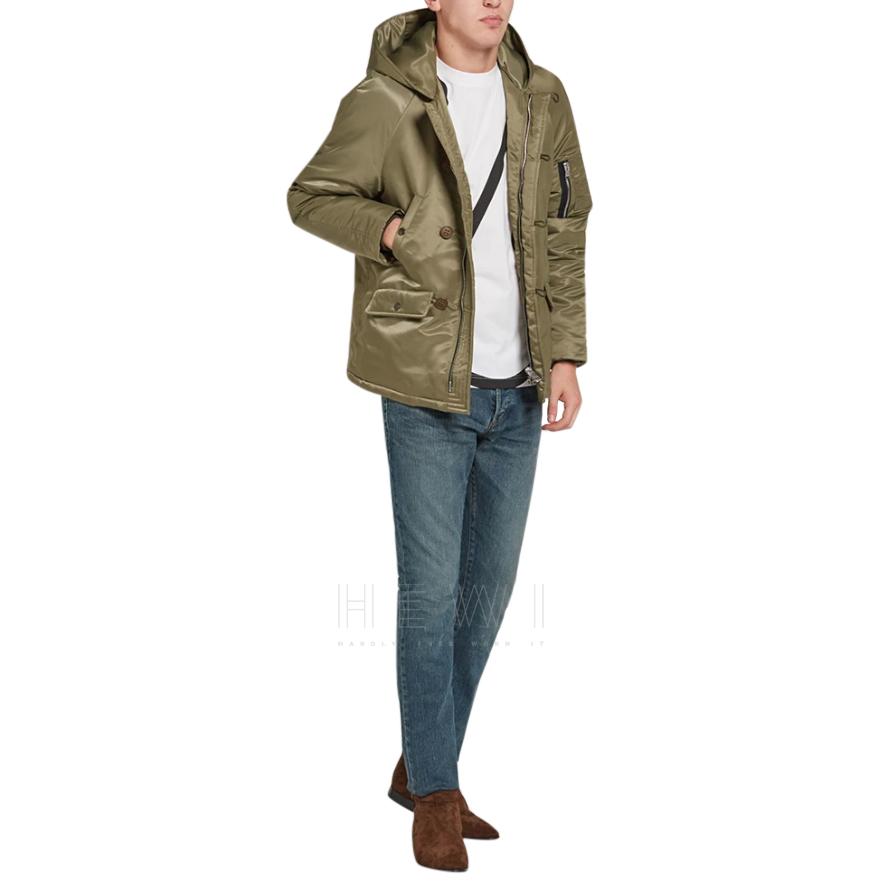 Saint Laurent Hooded MA-1 Jacket