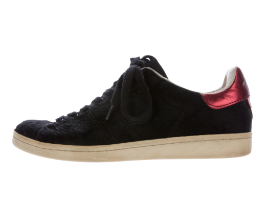 Isabel Marant Bart Ponyhair Sneakers