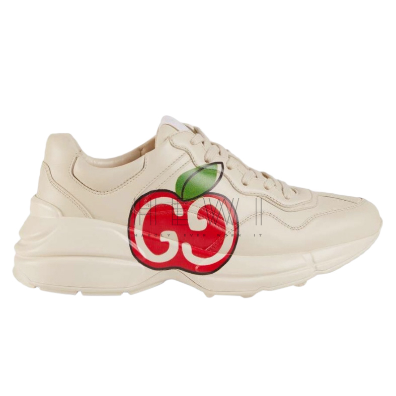 Gucci Women's Rhyton GG apple sneakers