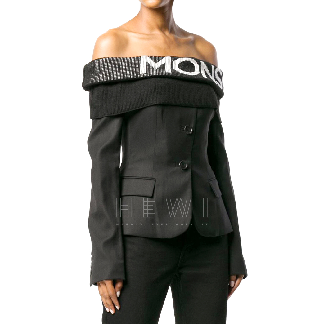 Peter Pilotto Monse off-the-shoulder blazer blouse