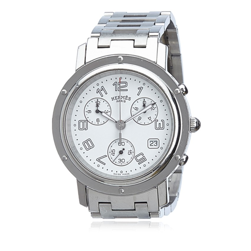 Hermes Clipper Chronograph Watch