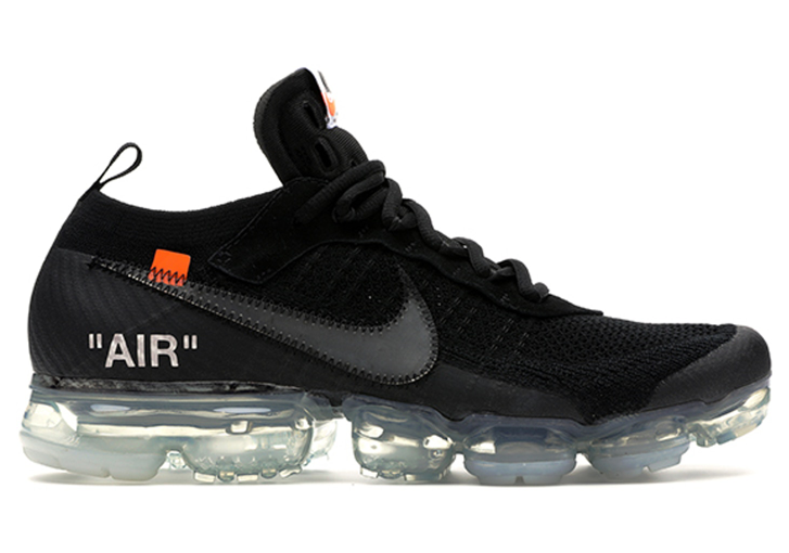 Nike Air VaporMax Off-White in Black