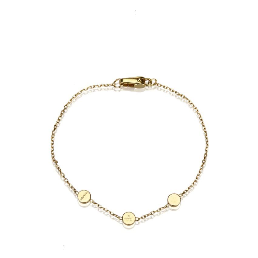 Gucci Gold Chain Bracelet