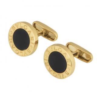 Bvlgari 18k Yellow Gold Cufflinks