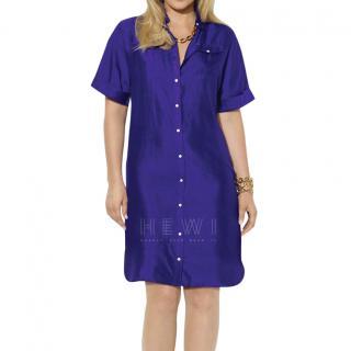 Lauren Ralph Lauren Amethyst Shirt Dress