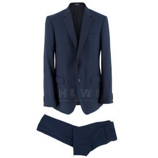 Lanvin Men's Navy Wool Tailored Suit