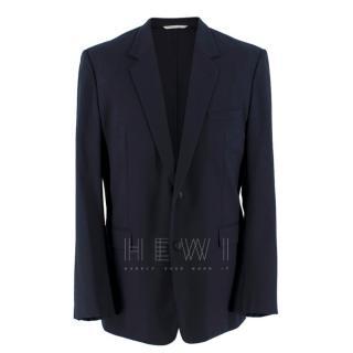 Dior Homme Navy Wool Blazer