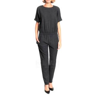 Athe by Vanessa Bruno Anthracite Felt Jumpsuit