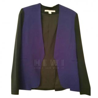 Diane Von Furstenberg Two Tone Open Jacket US 6/UK 10