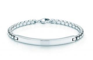Tiffany & Co Venetian Link ID Bracelet