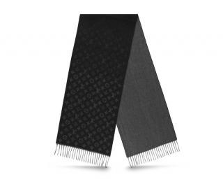 Louis Vuitton Monogram Gradient Cashmere & Wool Scarf
