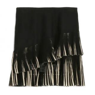 Alaia Seguidilla Pleated Mini Skirt
