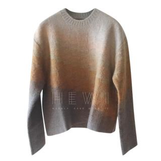 Dior Ombre Brown Boxy Sweater