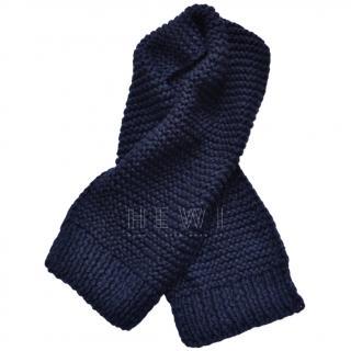 Stella Mccartney chunky-knit alpaca blend scarf
