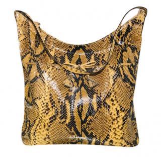 Anya Hindmarch Python Embossed Tote Bag