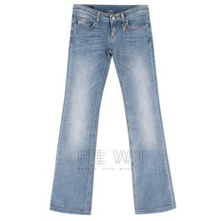 Gucci Low Rise Flare Jeans