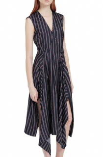 Mulberry Striped Samantha Dress