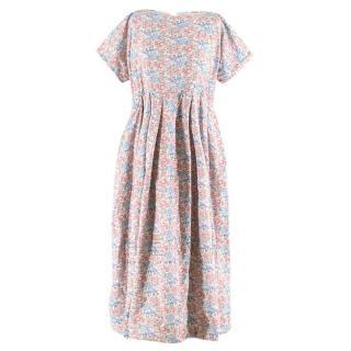 Dover Street Market Floral Printed Oversize Dress