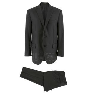 Corneliani Anthracite Grey Single Breasted Suit