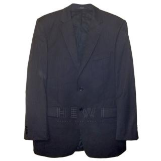 Balmain Homme Black Wool Jacket
