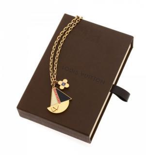 Louis Vuitton Float Your Boat Necklace