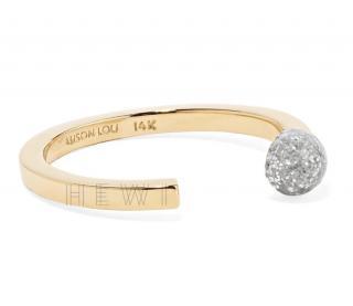 Alison Lou Glitter Match Stack Ring
