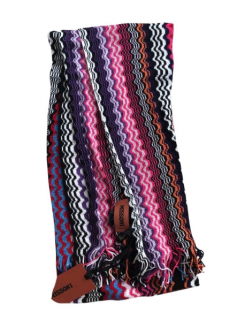 Missoni Crochet Knit Scarf