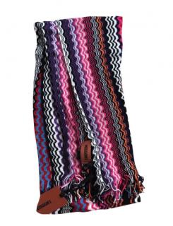 Missoni Crochet Knit Scarf