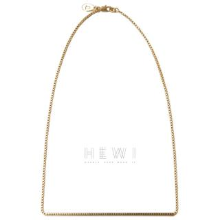 Jasmina Jovy Gold Tone Bar Necklace