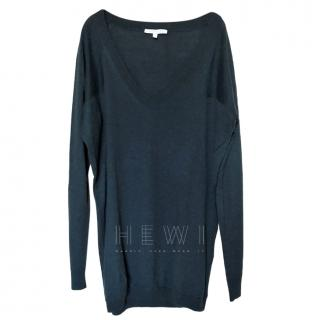 Vanessa Bruno Cashmere Blend Fine Knit Sweater