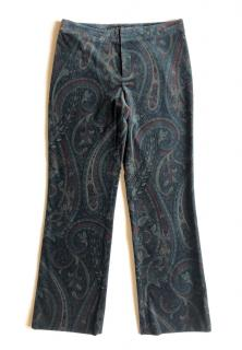Ralph Lauren Black Label Paisley Print Pants