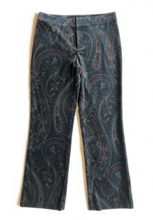 Ralph Lauren Black Label Paisley Print Pants