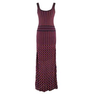 Missoni Multicolored Knit Maxi Dress