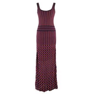 Missoni Multicolored Knit Maxi Dress