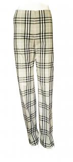 Burberry Check Pants