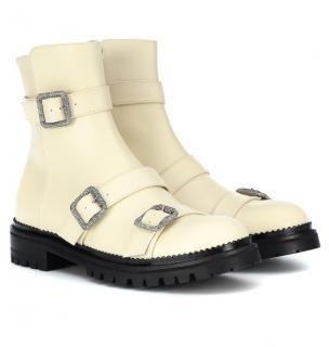 Jimmy Choo Hank Flat Ankle Boots