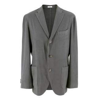 Boglioli Grey Wool Linen Jacket