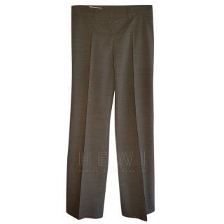 Jil Sander Grey Tailored Pants
