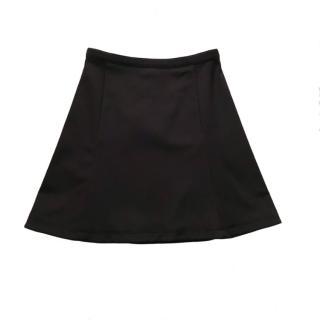 Prada Black Skater Skirt