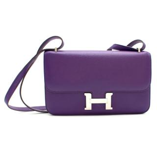 Hermes Ultra Violet Togo Leather Constance Elan
