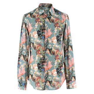 Roberto Cavalli Floral Button Up Shirt
